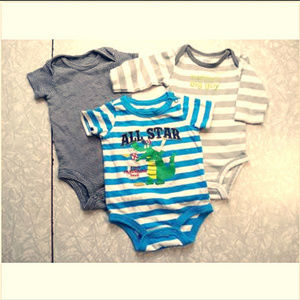 Boys Set of 3 Carter's Koala Baby 0-3 Months One P
